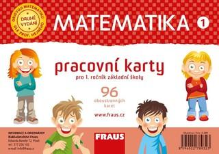 Matematika 1.r. ZŠ - Pracovní karty (nová generace)