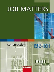 Job Matters - Construction - učebnice
