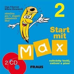 Start mit Max 2 - audio CD k učebnici /2ks/