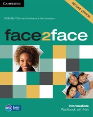 Face2face 2nd edition Intermediate Workbook with key