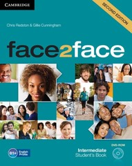 Face2face 2nd edition Intermediate Students Book + DVD-ROM (učebnice)