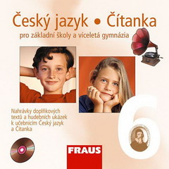 Český jazyk/Čítanka 6.r. ZŠ a víceletá gymnázia - audio CD