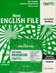 New English File Intermediate - Workbook with key + MultiROM (pracovní sešit)