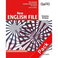 New English File Elementary - Workbook with key + CD-ROM (pracovní sešit s klíčem)