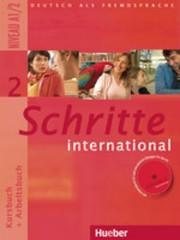 Schritte international 2 Paket - Kursbuch + Arbeitsbuch + CD + Glossar