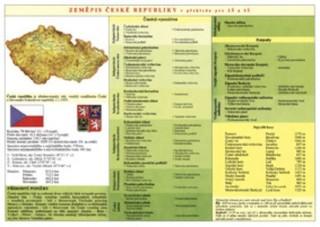 Zeměpis České republiky (tabulka)