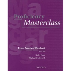 New Proficiency Masterclass Exam Practice Workbook with key + audio CD