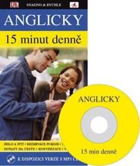 Anglicky 15 minut denně - kniha + CD MP3