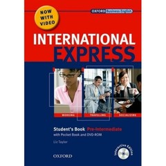 International Express Pre-intermediate Students Book + Pocket Book+ MultiROM + DVD PACK