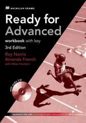 Ready for Advanced Workbook with key 3rd Edition (pracovní sešit s klíčem)