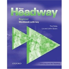 New Headway Beginner - Workbook with key (pracovní sešit s klíčem)