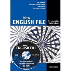 New English File Pre-Intermediate - Teacher´s Book + Test Resource CD-ROM