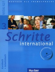 Schritte international 3 Paket - Kursbuch + Arbeitsbuch + CD + Glossar