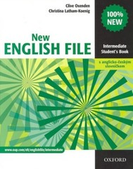 New English File Intermediate - Student´s Book + slovníček (učebnice)
