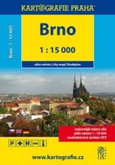 Brno 1:15 000 - atlas města