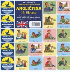 Najdi dvojici - Angličtina - 16.Slovesa (pexeso)