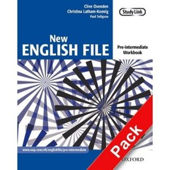 New English File Pre-Intermediate - Workbook with key + CD (pracovní sešit s klíčem)