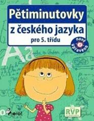 Pětiminutovky z českého jazyka pro 5.třídu