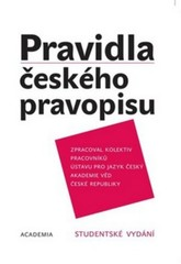 Pravidla českého pravopisu akademická