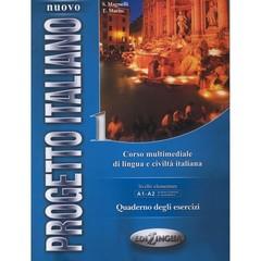 Nuovo Progetto Italiano 1 - pracovní sešit + CD