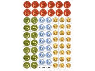 Papírové mince a bankovky - sada