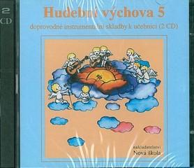 Hudební výchova 5.r. - audio CD