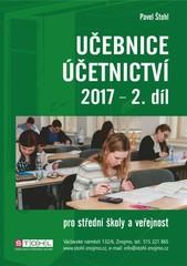 Učebnice Účetnictví pro SŠ a veřejnost 2017 - 2. díl
