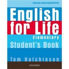 English for Life Elementary Student´s Book (učebnice)