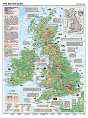 Basic Facts about Great Britain / British Isles (podložka, A3)