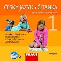 Český jazyk/Čítanka 1.r. ZŠ - audio CD