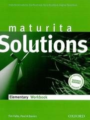 Maturita Solutions Elementary Workbook (pracovní sešit)