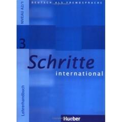 Schritte international 3 Lehrerhandbuch (metodická příručka)