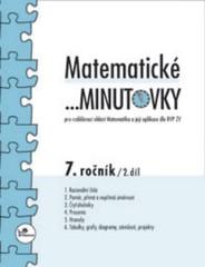 Matematické minutovky 7.r. - 2.díl
