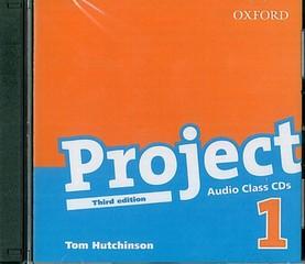 Project 1 Third Edition - Class Audio CD (audio CD k učebnici, třetí vydání)