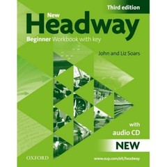 New Headway Beginner 3.vyd. Workbook with key + audio CD (pracovní sešit s klíčem)