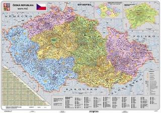 Česká republika - Mapa PSČ (135x100 cm)