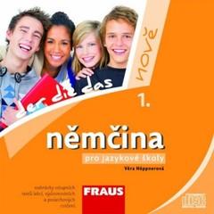 Němčina pro jazykové školy 1. nově - audio CD