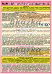 Přehled české literatury (skládačka A5, 8 stran)