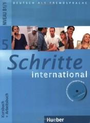 Schritte international 5 Paket - Kursbuch + Arbeitsbuch + CD + Glossar