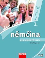 Němčina pro jazykové školy 3. nově - učebnice