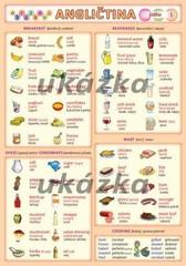 Obrázková angličtina 5 - Jídlo (oboustranná tabulka, A5)