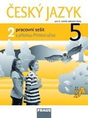 Český jazyk 5.r. ZŠ - pracovní sešit 2 (s přílohou Přehled učiva)
