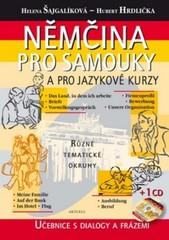 Němčina pro samouky a pro jazykové kurzy - Učebnice s dialogy a frázemi + CD