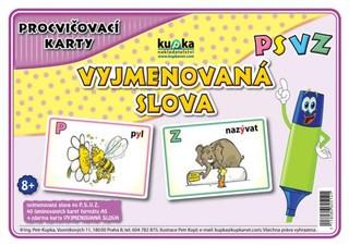 Procvičovací karty - Vyjmenovaná slova PSVZ
