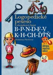 Logopedické pexeso a obrázkové čtení B - P - N - D - F - V - K - H - CH - ĎŤŇ