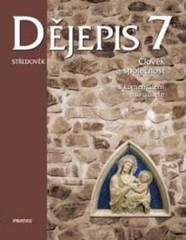 Dějepis 7.r. Středověk (nový) - učebnice s komentářem pro učitele