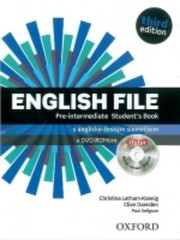 English File Third Edition Pre-intermediate Students Book + DVD