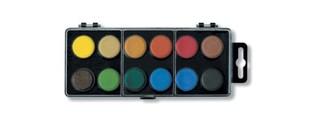 Barvy vodové 12 (22,5 mm)