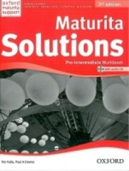 Maturita Solutions 2nd Edition Pre-intermediate Workbook with Audio CD (pracovní sešit)