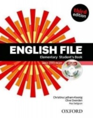 English File Third Edition Elementary Students Book + DVD